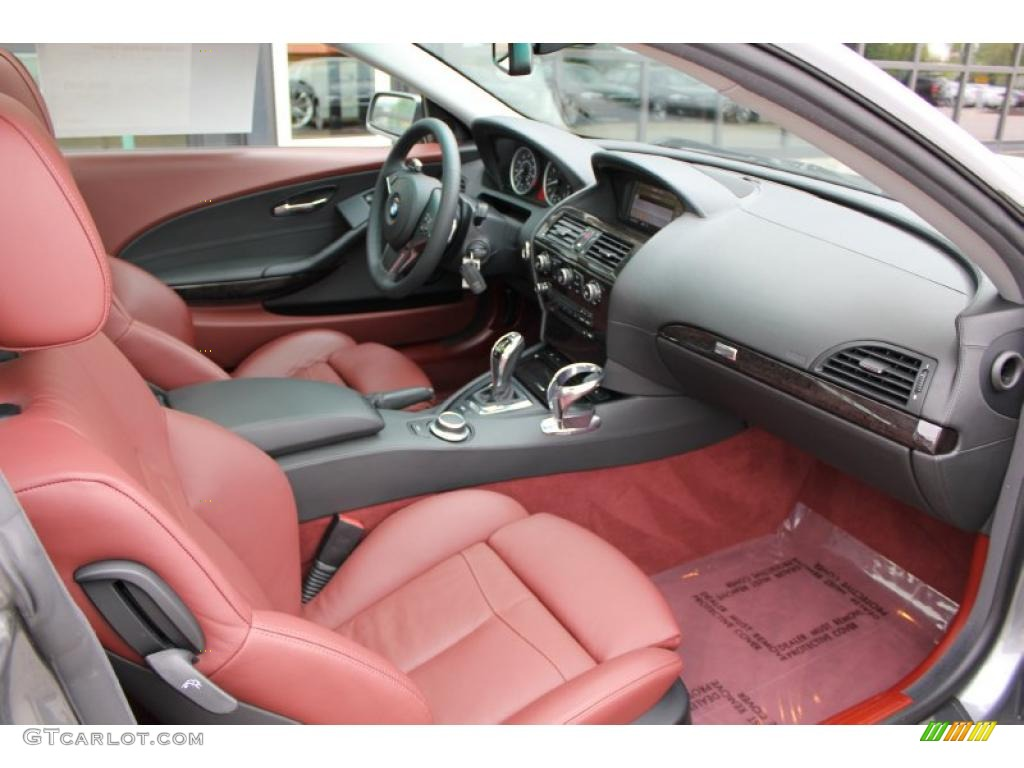 2008 BMW 6 Series 650i Coupe Interior Photo 49502349