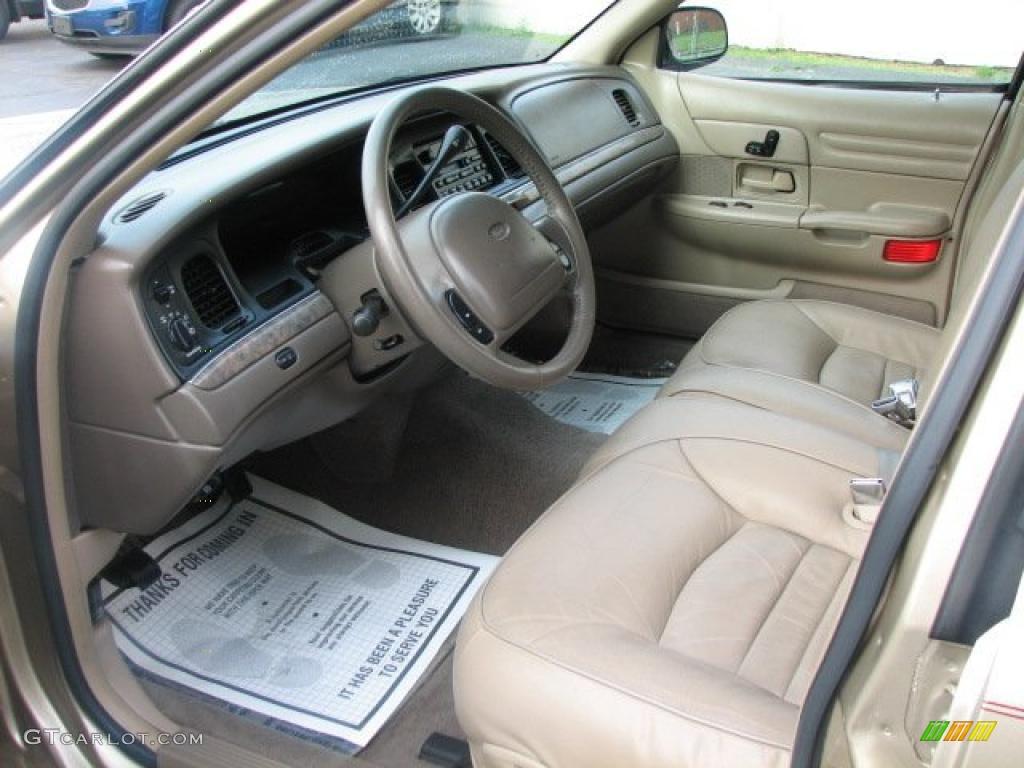 Medium Parchment Interior 1999 Ford Crown Victoria Lx Photo 49503549
