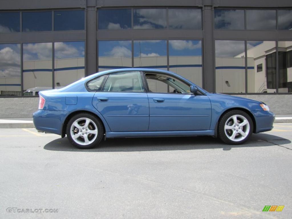 Newport Blue Pearl 2007 Subaru Legacy 2 5i Limited Sedan