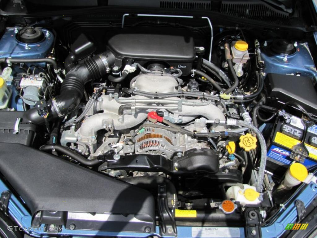 2007 Subaru Legacy 2.5i Limited Sedan Engine Photos