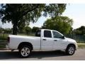 2002 Bright White Dodge Ram 1500 Sport Quad Cab 4x4  photo #9