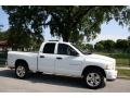2002 Bright White Dodge Ram 1500 Sport Quad Cab 4x4  photo #11