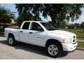 2002 Bright White Dodge Ram 1500 Sport Quad Cab 4x4  photo #12