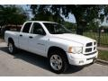 2002 Bright White Dodge Ram 1500 Sport Quad Cab 4x4  photo #13