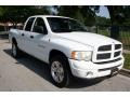 2002 Bright White Dodge Ram 1500 Sport Quad Cab 4x4  photo #15