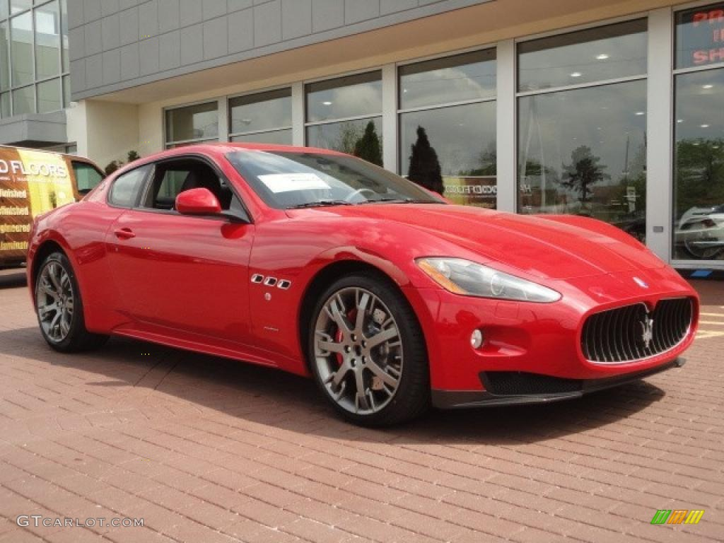 Rosso Mondiale Red 2011 Maserati Granturismo S Exterior Photo 49515839 Gtcarlot Com