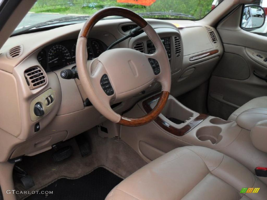 medium prairie tan interior 1999 lincoln navigator 4x4. Black Bedroom Furniture Sets. Home Design Ideas