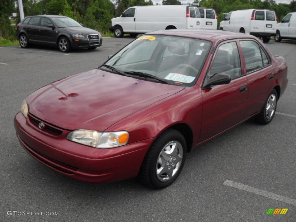 1999 venetian red pearl toyota corolla ve 49515074 car color galleries. Black Bedroom Furniture Sets. Home Design Ideas