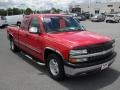 2000 Victory Red Chevrolet Silverado 1500 LT Extended Cab  photo #5