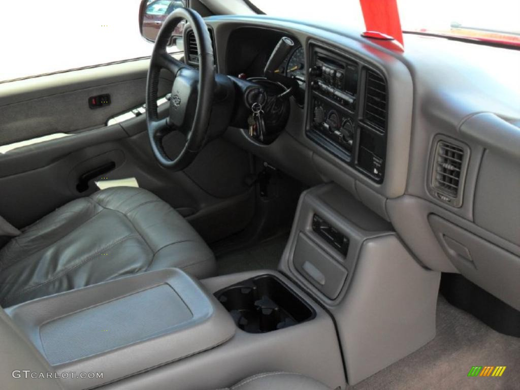 2000 Silverado 1500 LT Extended Cab - Victory Red / Graphite photo #19