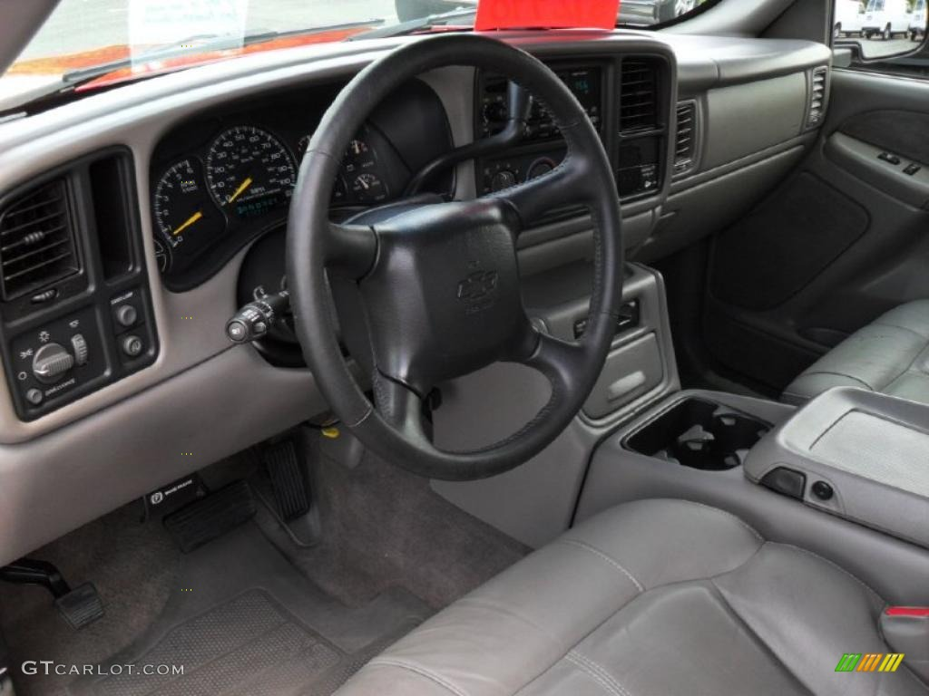 2000 Silverado 1500 LT Extended Cab - Victory Red / Graphite photo #24