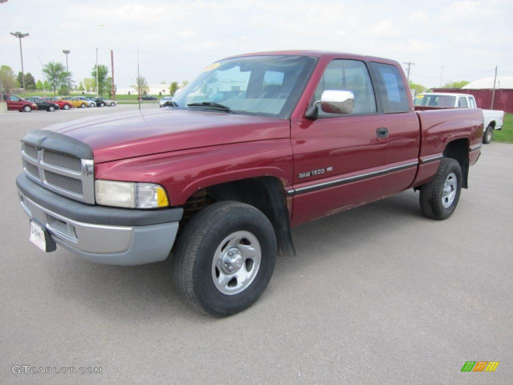 1996 claret red pearl dodge ram 1500 slt extended cab 49514204 car color galleries. Black Bedroom Furniture Sets. Home Design Ideas