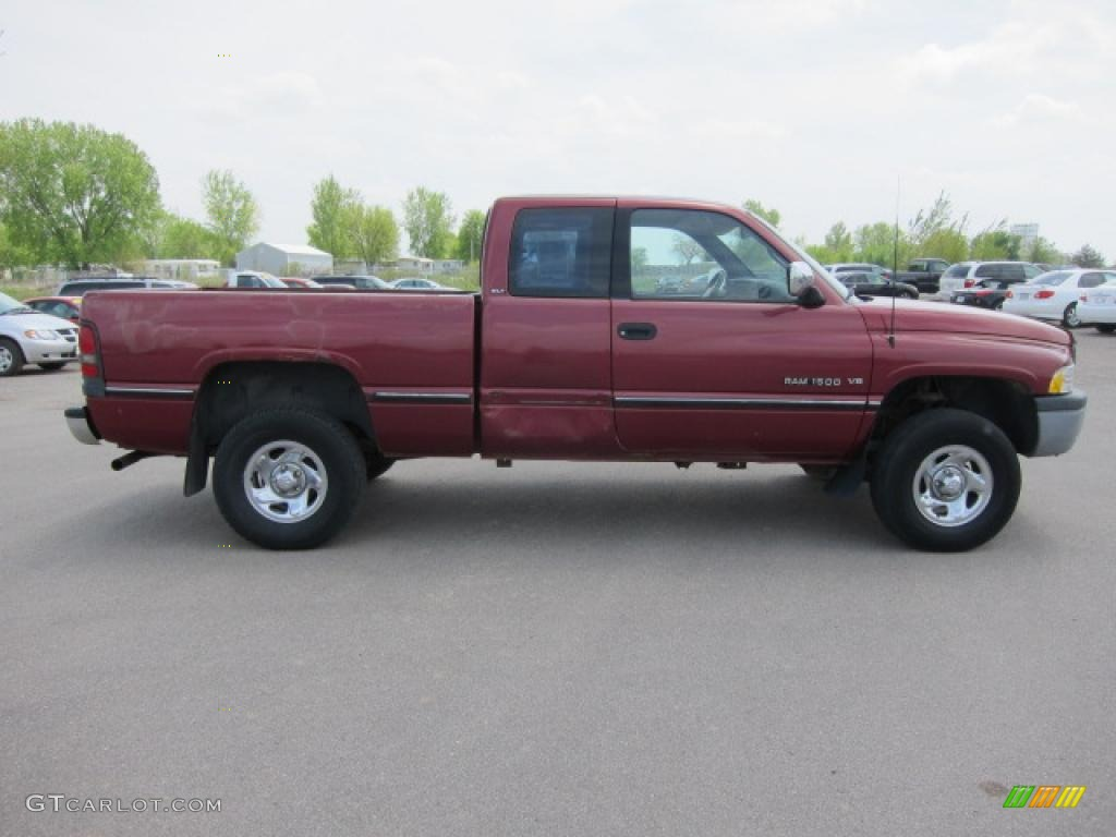 claret red pearl 1996 dodge ram 1500 slt extended cab exterior photo 49520021. Black Bedroom Furniture Sets. Home Design Ideas