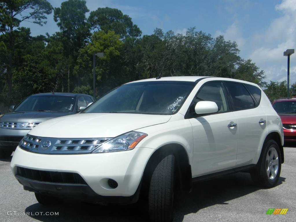 2005 glacier pearl white nissan murano s 442873. Black Bedroom Furniture Sets. Home Design Ideas
