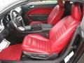 Red Leather Interior Photo for 2005 Ford Mustang #49524776