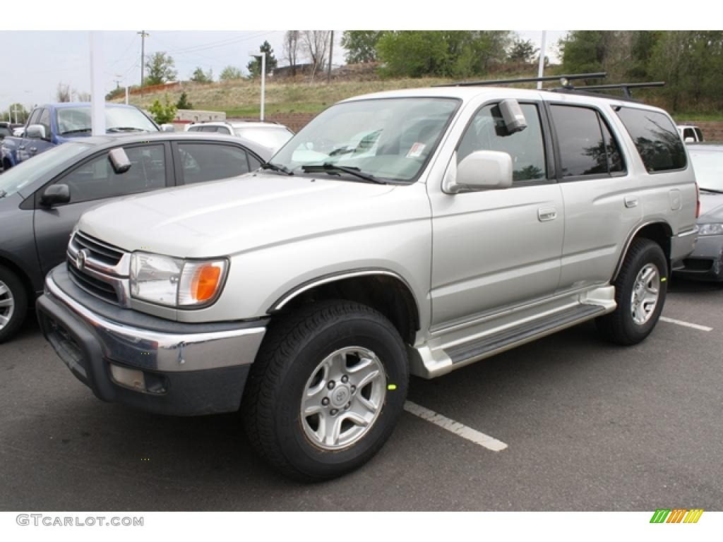 2001 millennium silver metallic toyota 4runner sr5 4x4 49514411 photo 4 car. Black Bedroom Furniture Sets. Home Design Ideas