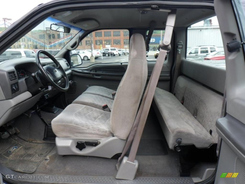 1999 Ford F250 Super Duty XLT Extended Cab 4x4 interior Photo ...