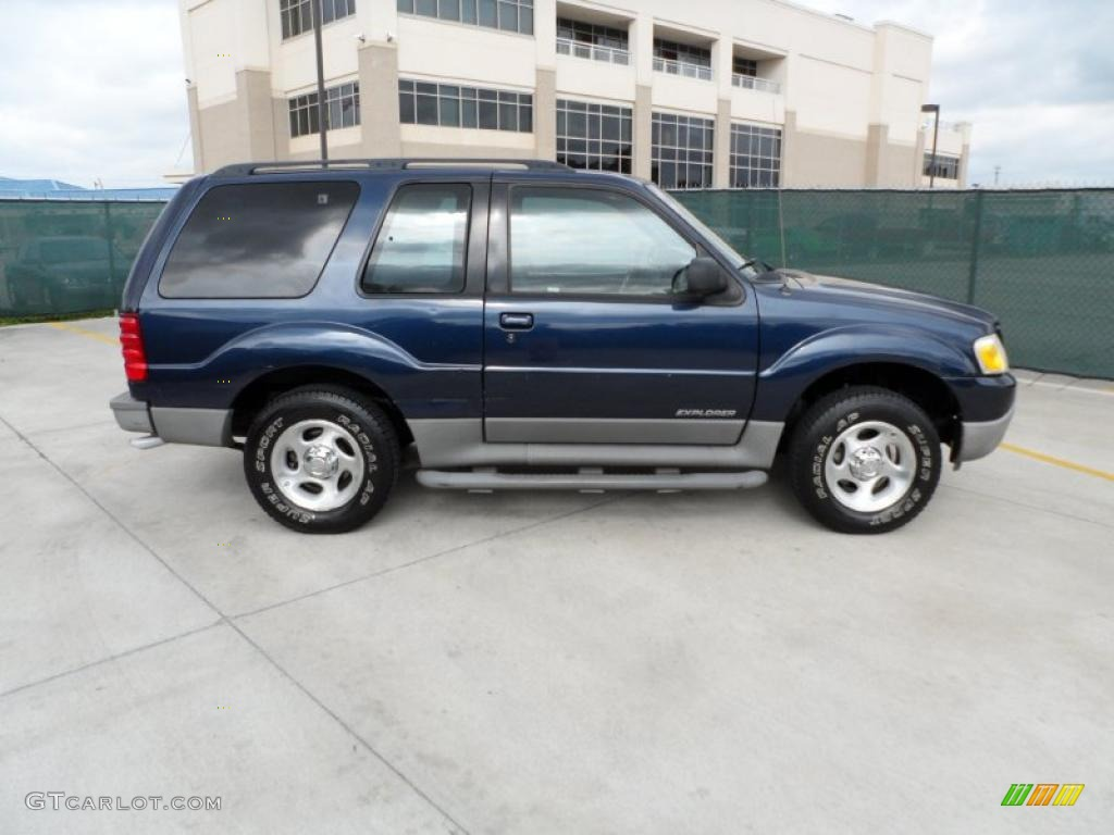 true blue metallic 2002 ford explorer sport exterior photo 49548842. Cars Review. Best American Auto & Cars Review