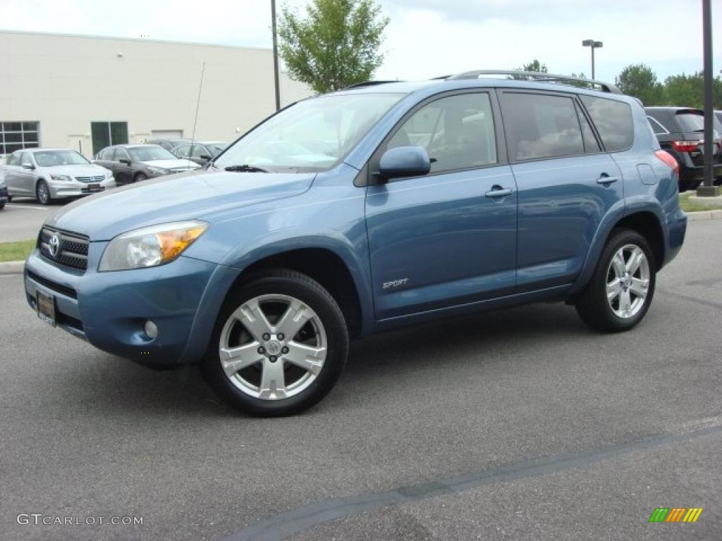 pacific blue metallic 2007 toyota rav4 sport exterior. Black Bedroom Furniture Sets. Home Design Ideas