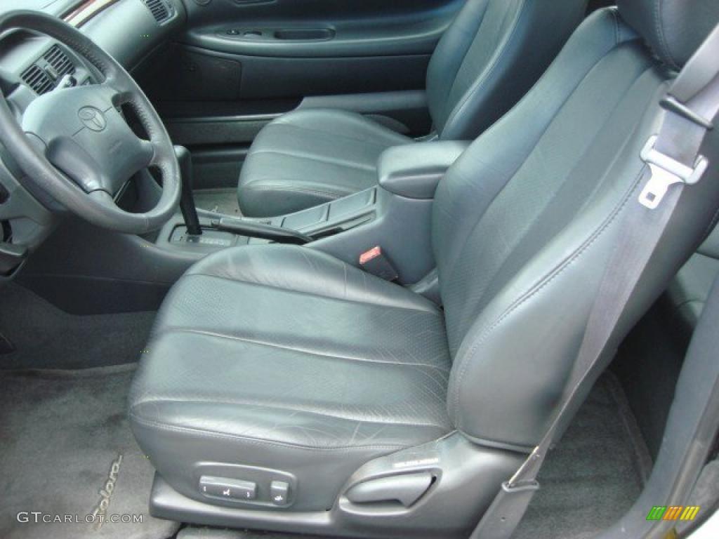 2001 toyota solara sle v6 coupe interior photo 49555562