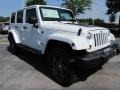 Bright White 2011 Jeep Wrangler Unlimited Gallery
