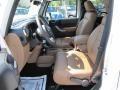 Black/Dark Saddle 2011 Jeep Wrangler Unlimited Interiors
