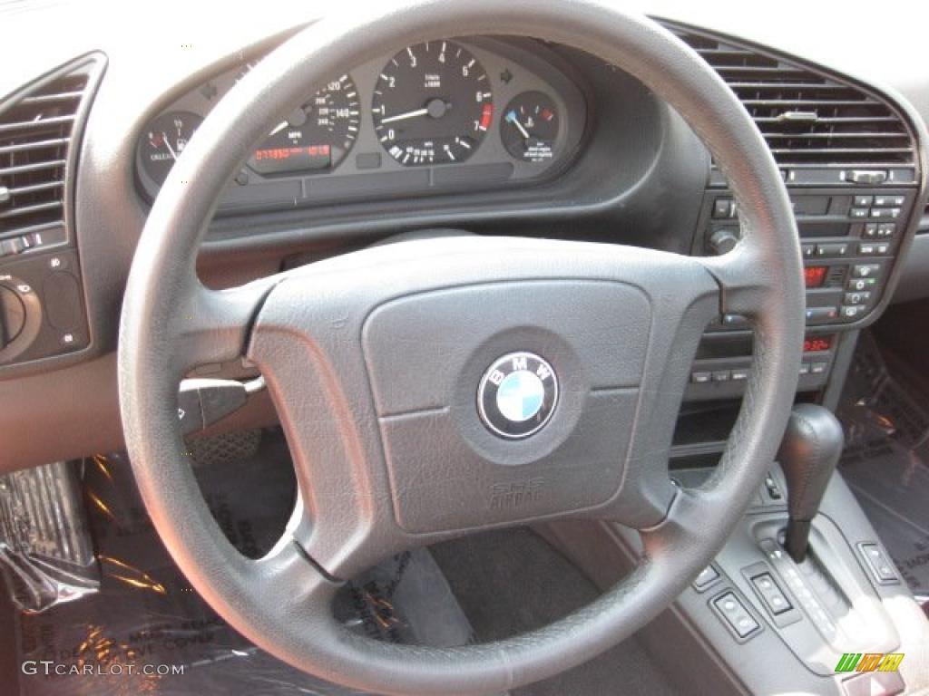 1998 Bmw 3 Series 323is Coupe Black Steering Wheel Photo