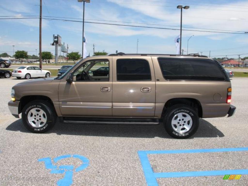 Sandalwood Metallic 2004 Chevrolet Suburban 1500 LT ...