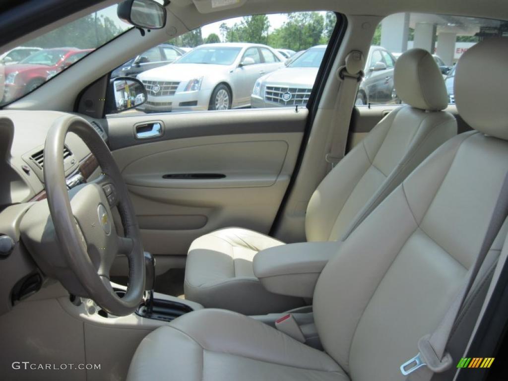 Neutral Beige Interior 2005 Chevrolet Cobalt Lt Sedan Photo
