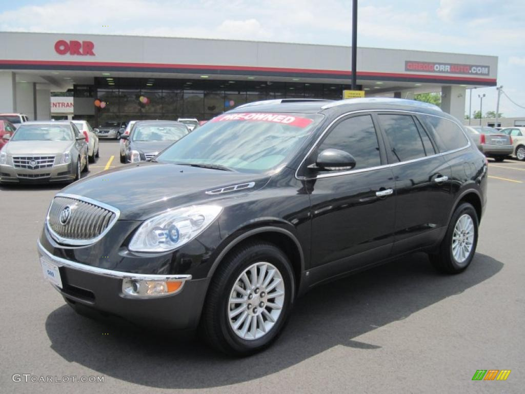 Carbon Black Metallic Buick Enclave