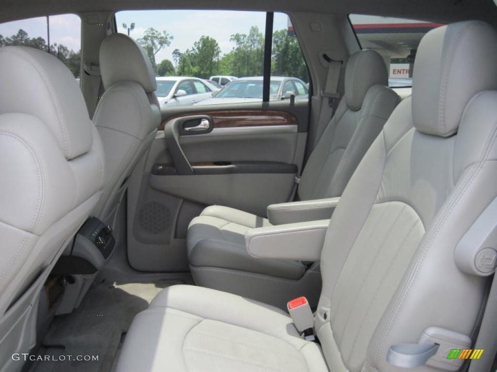 2008 Enclave CXL - Carbon Black Metallic / Titanium/Dark Titanium photo #13