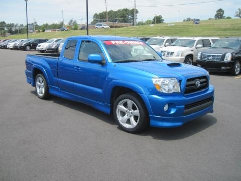 2008 Toyota Tacoma X Runner Data, Info And Specs