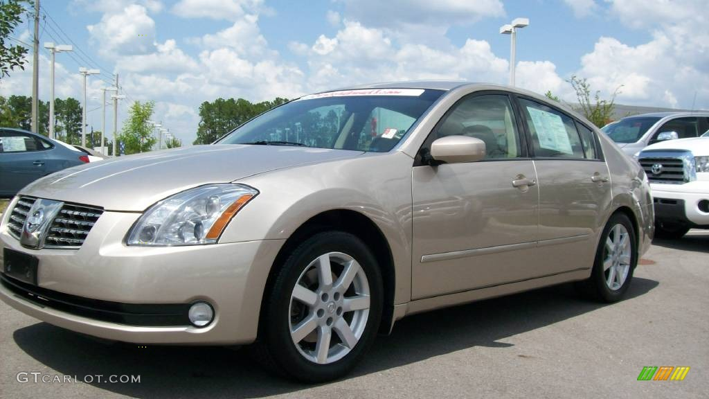 2005 coral sand metallic nissan maxima 3 5 sl 440475. Black Bedroom Furniture Sets. Home Design Ideas