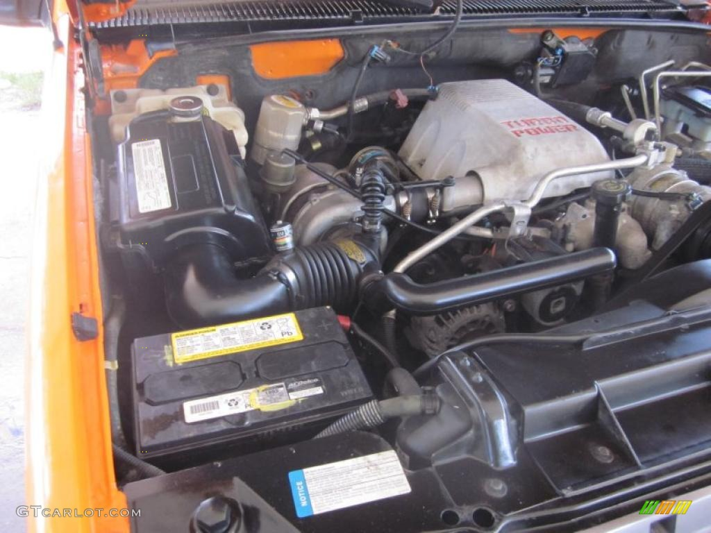 Chevy 6.5 Turbo Diesel Engine