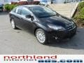 2012 Tuxedo Black Metallic Ford Focus Titanium Sedan  photo #2