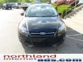 2012 Tuxedo Black Metallic Ford Focus Titanium Sedan  photo #3