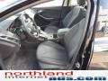 2012 Tuxedo Black Metallic Ford Focus Titanium Sedan  photo #9