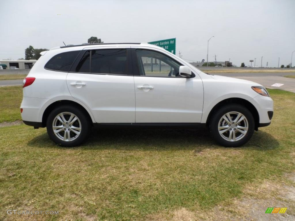 Frost White Pearl 2011 Hyundai Santa Fe Limited Exterior