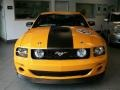 2007 Grabber Orange Ford Mustang Saleen Parnelli Jones Edition  photo #2