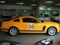 2007 Grabber Orange Ford Mustang Saleen Parnelli Jones Edition  photo #4