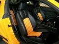 2007 Ford Mustang Black/Orange Interior Interior Photo