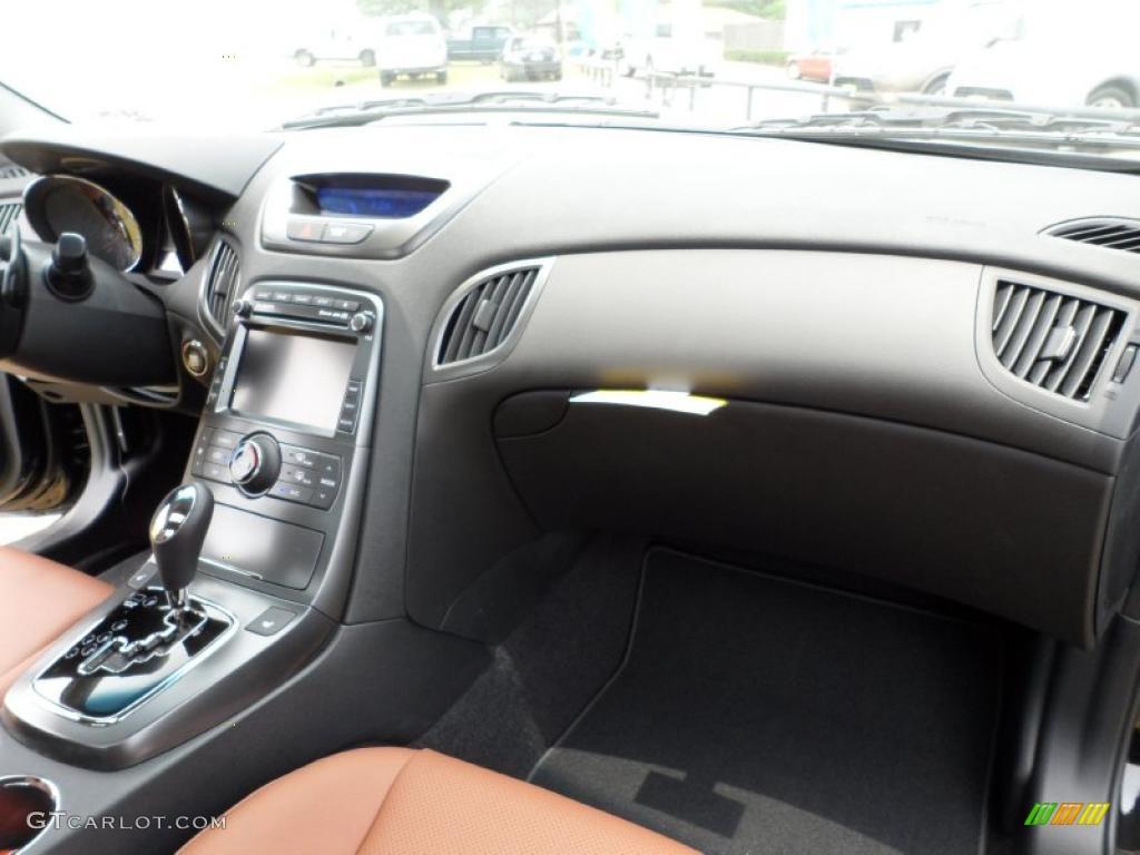 2011 Hyundai Genesis Coupe 3 8 Grand Touring Brown Leather Dashboard Photo 49584907 Gtcarlot Com