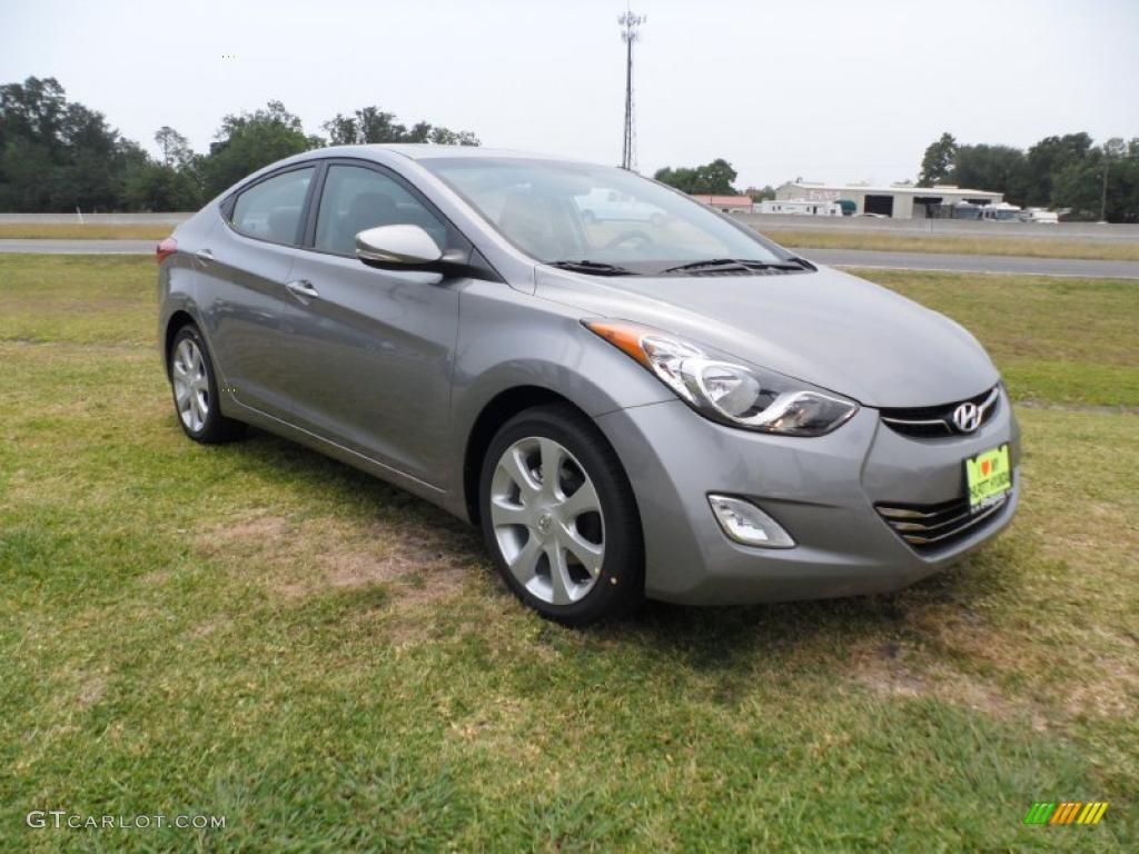 2011 Titanium Gray Metallic Hyundai Elantra Limited
