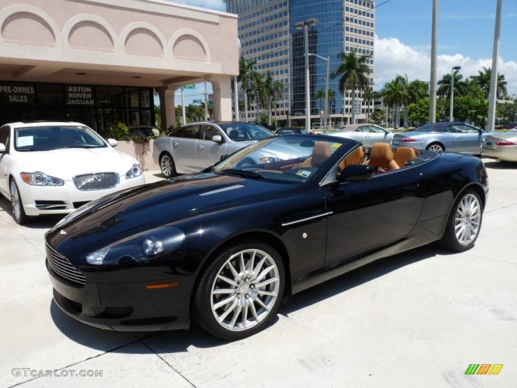 Onyx Black Aston Martin DB Volante GTCarLotcom - 2006 aston martin db9 volante