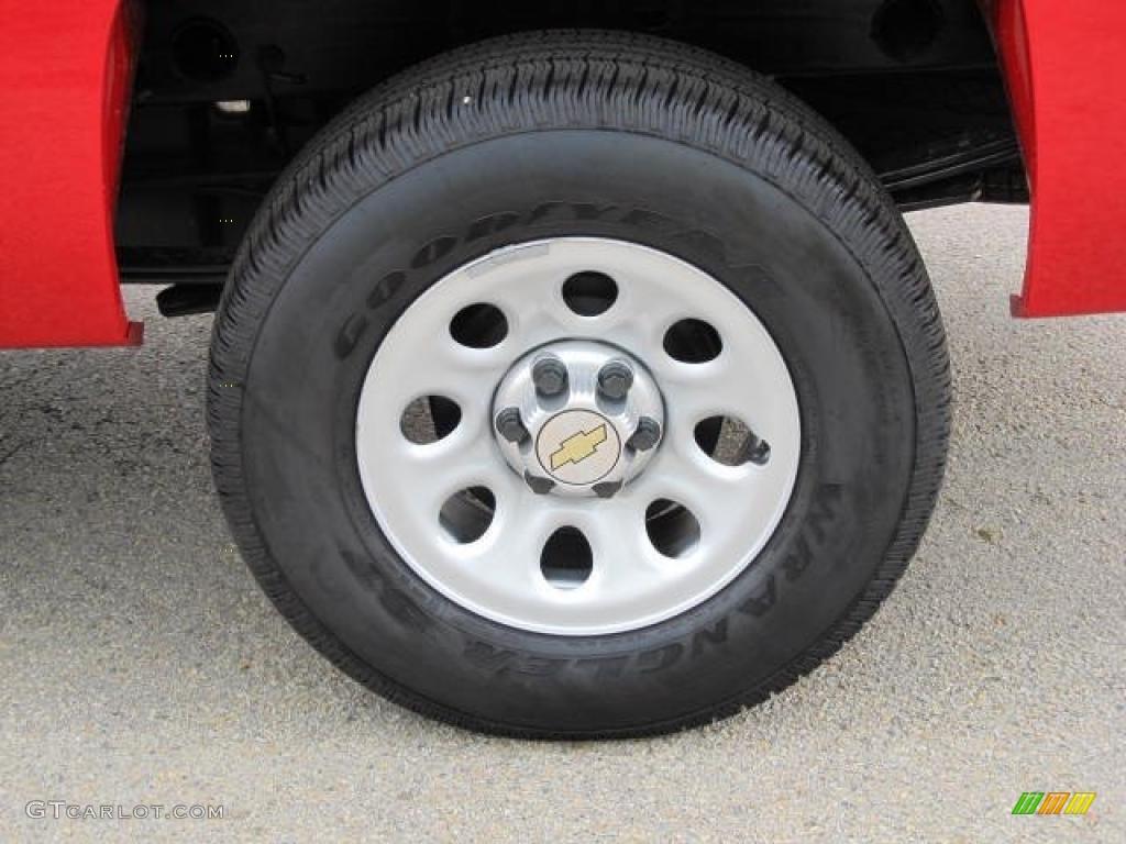 2011 Chevrolet Silverado 1500 Regular Cab 4x4 Wheel Photo #49590475