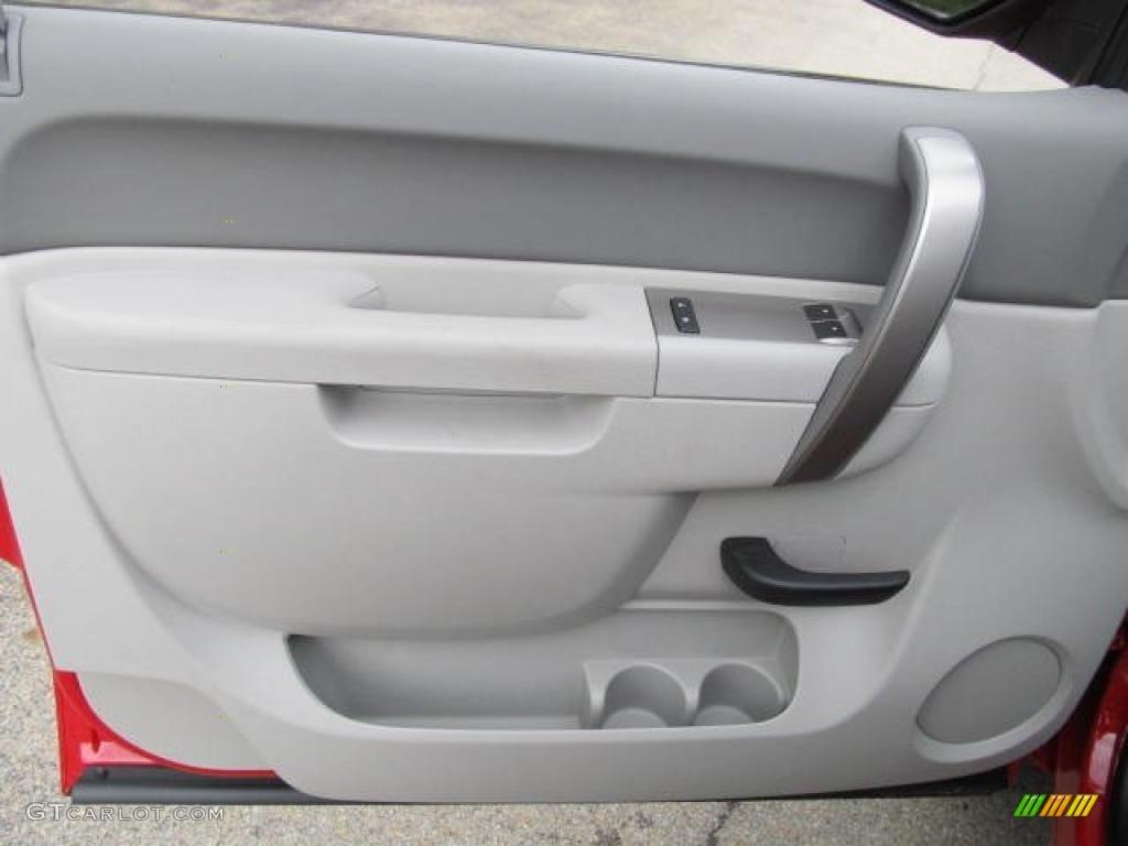 2011 Chevrolet Silverado 1500 Regular Cab 4x4 Dark Titanium Door Panel Photo #49590613