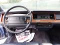 1994 Lincoln Town Car Blue Interior Dashboard Photo