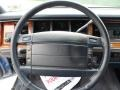 1994 Lincoln Town Car Blue Interior Steering Wheel Photo