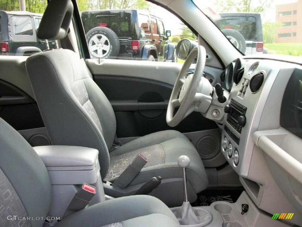 pastel slate gray interior 2006 chrysler pt cruiser. Black Bedroom Furniture Sets. Home Design Ideas