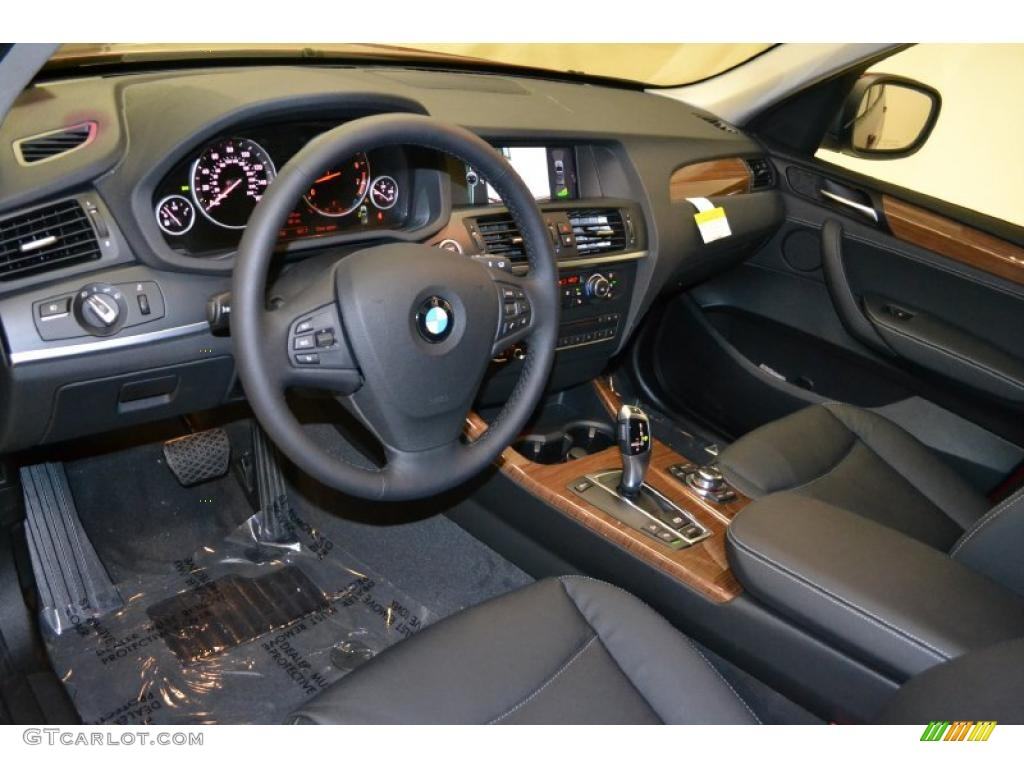black interior 2011 bmw x3 xdrive 28i photo 49596682. Black Bedroom Furniture Sets. Home Design Ideas